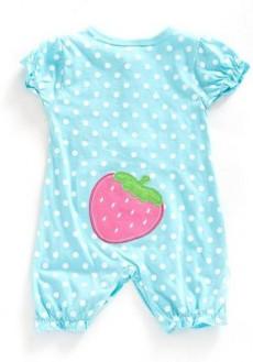 婴儿连体服图样